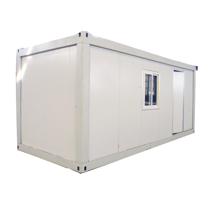 Steel modular flat pack 20ft container tiny house prefabricated