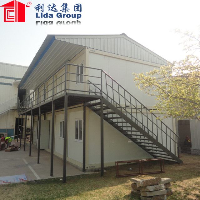 Prefabricated expandable 2-story container house prices for sale philippines