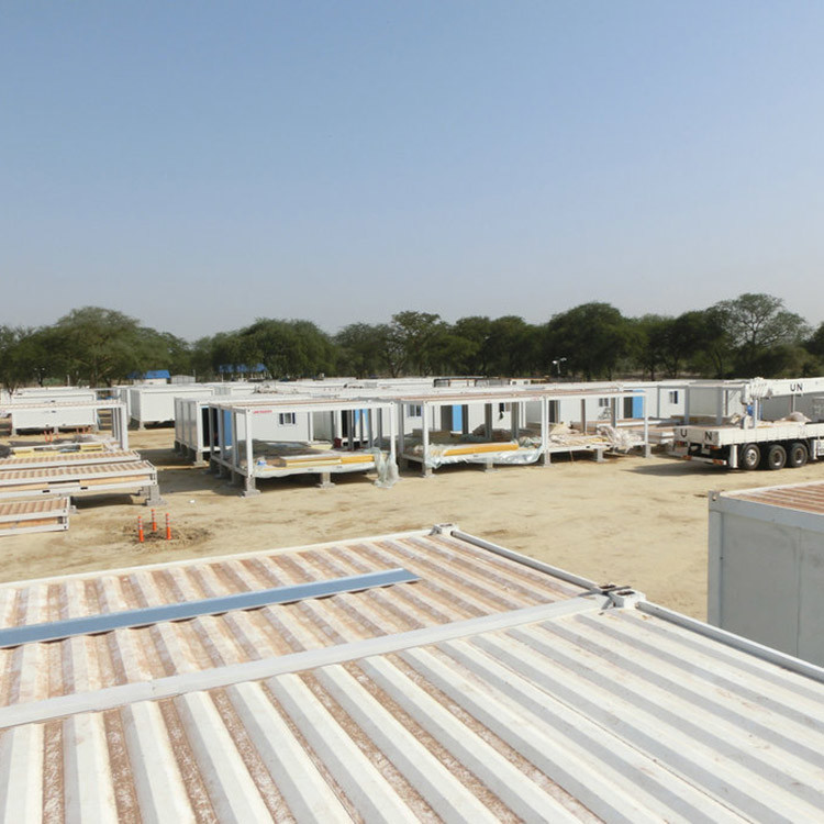 Hot sales Movable folding Container House used as refugee camps