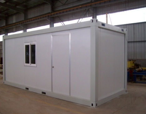 South Sudan army used Flat packed container house