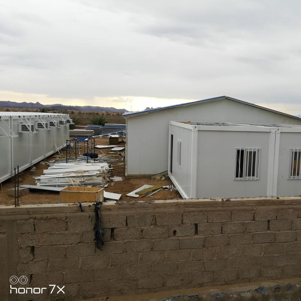 prefabricated buildings government resettlement Container House