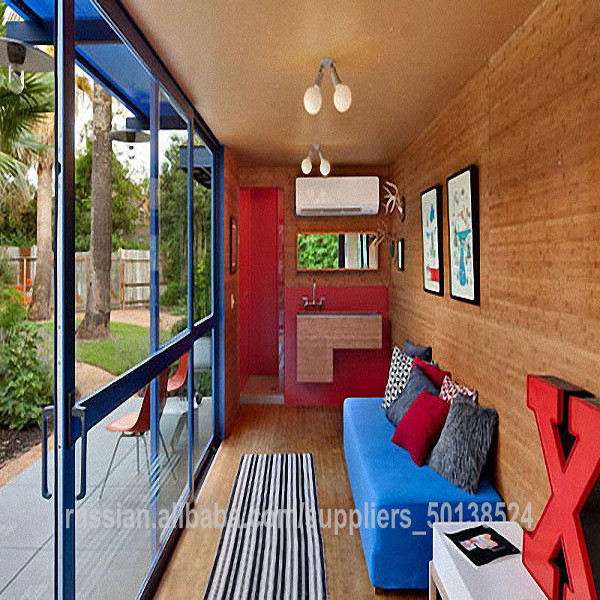 Steel low cost prefabricated modular homes/Carport/movable coffee room