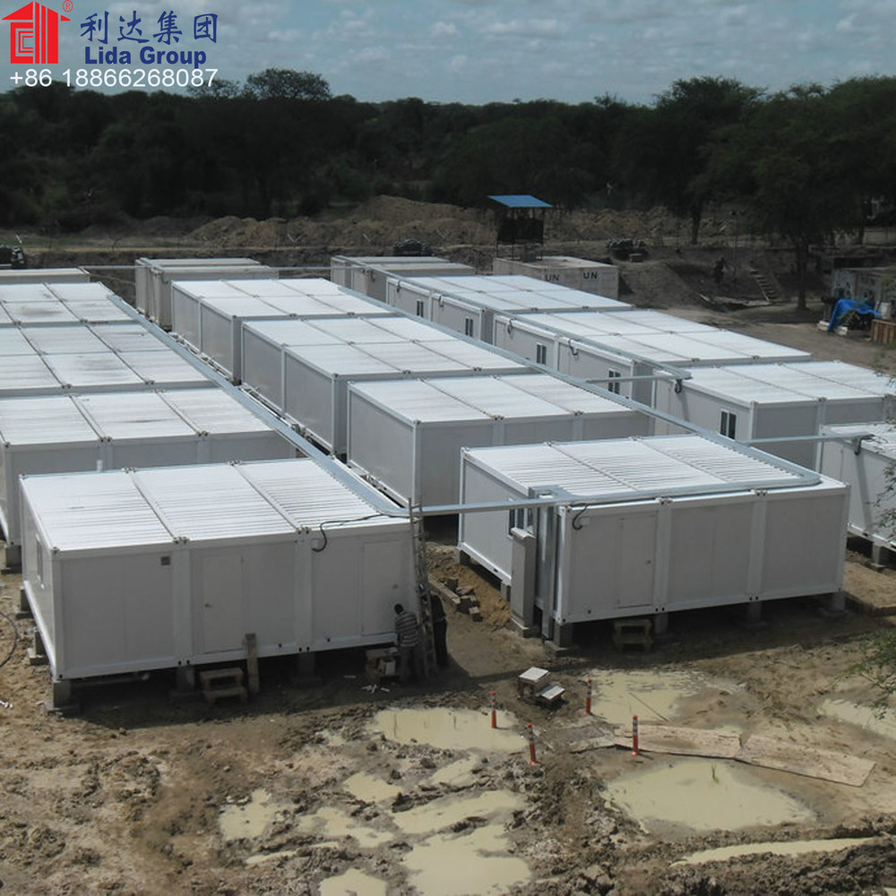 UN army container house camp