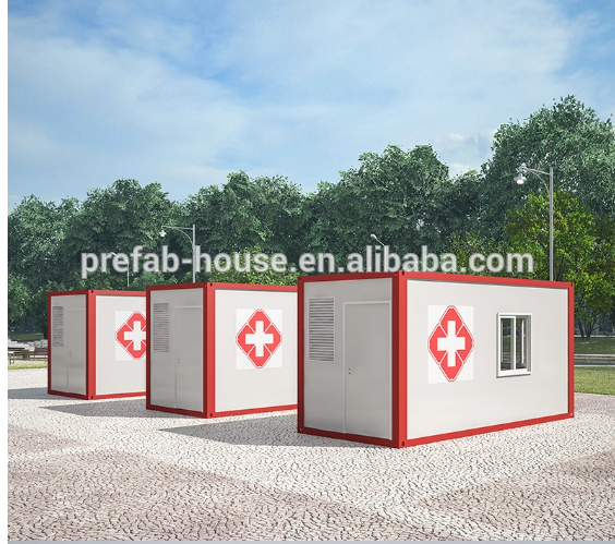 2020 fast build container hospital/isolation room/container clinic
