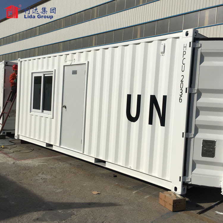 Prefab container house, shipping container house, container home
