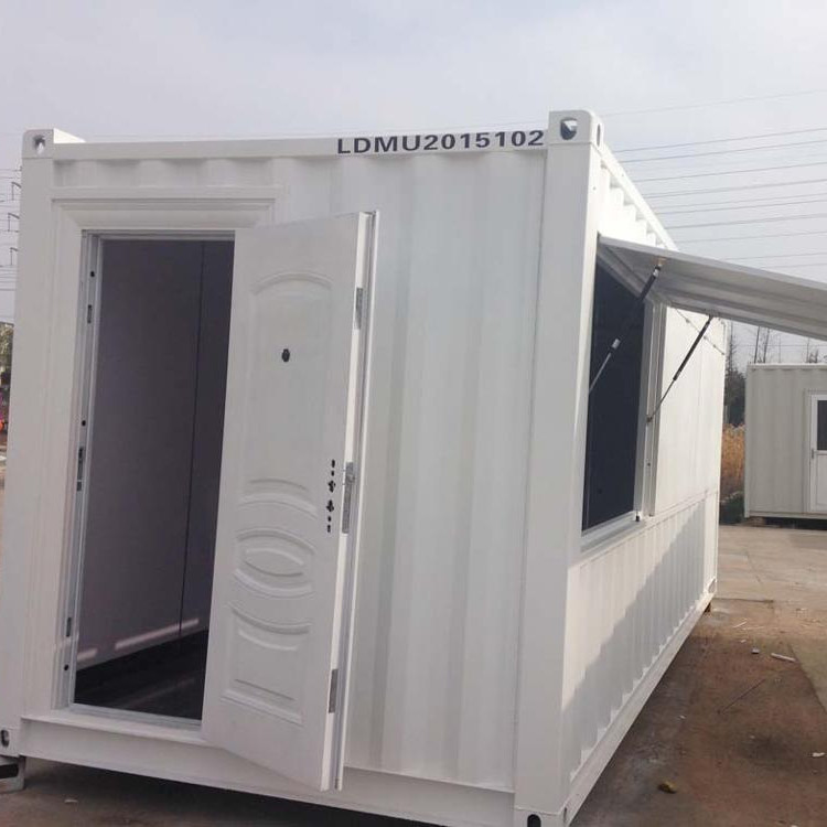 Mini wooden house camper trailer