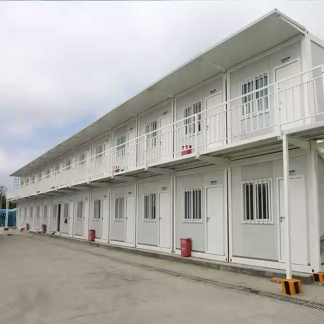 Shocking Promotion 6 sets Prefab Flat-pack Container Warehouse