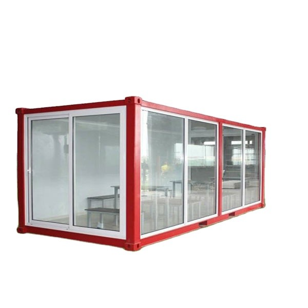Flat pack movable prefabricated modular living container house for labor camp,accomodication