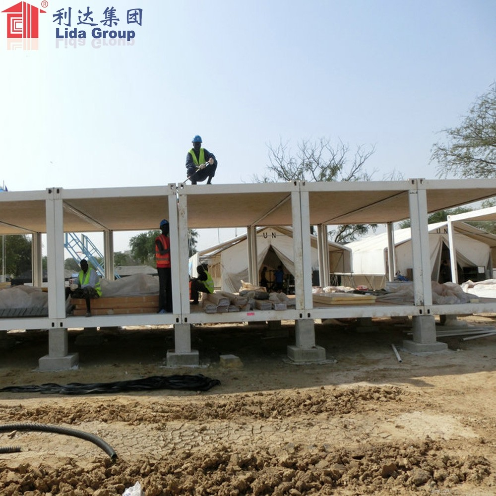 China Cheap 40ft high cube container house for sale