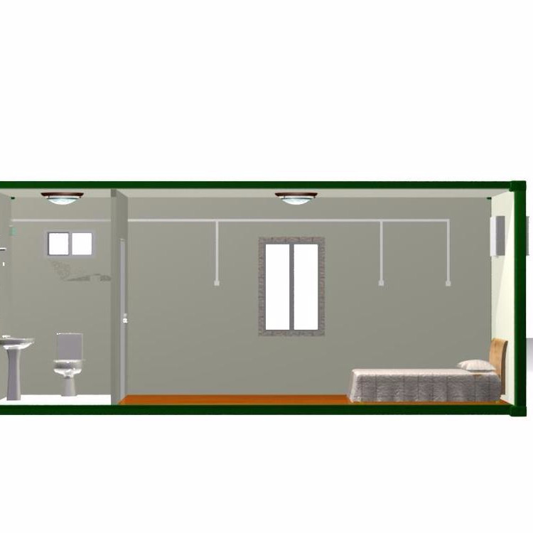 living room container unit camp