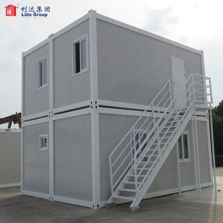 Prefabricated Steel Frame Standard Tiny Container Modular Kit House