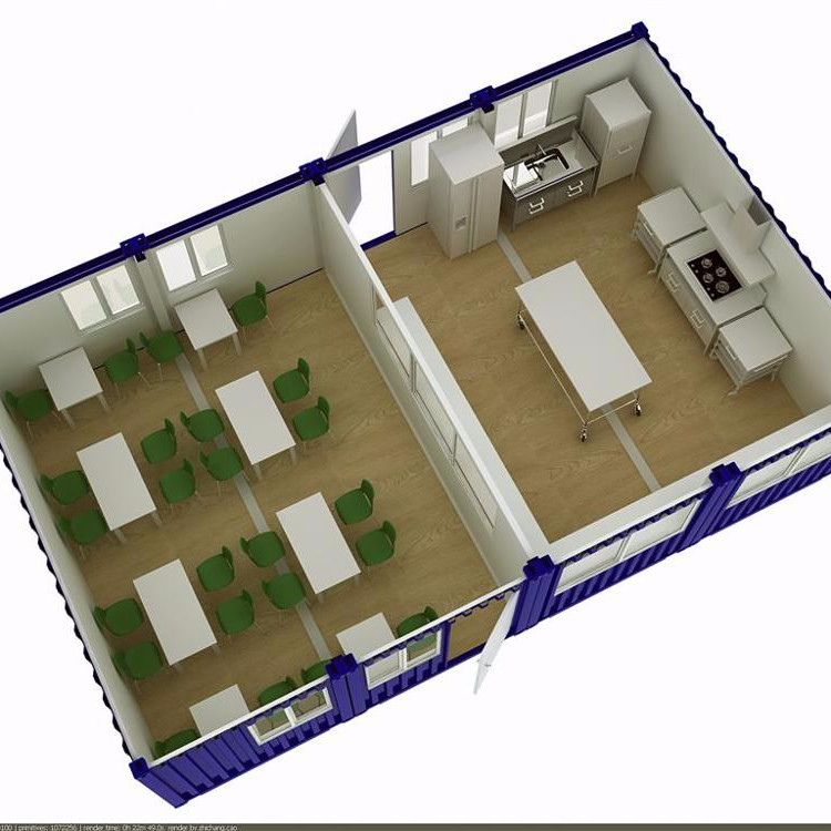 living container house 2020