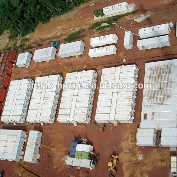 10000 labour camp oil camp LNG CAMP PREFABRICATED CONTAINER HOUSE