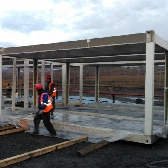 Prefab portable mobile homes building solution