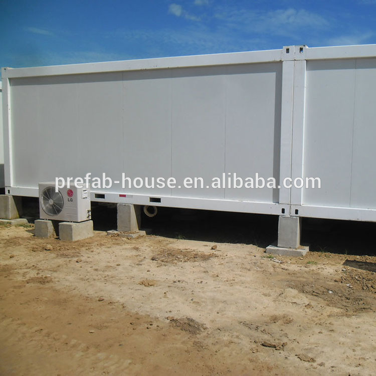Custom luxury prefabricated living container house,modified container house