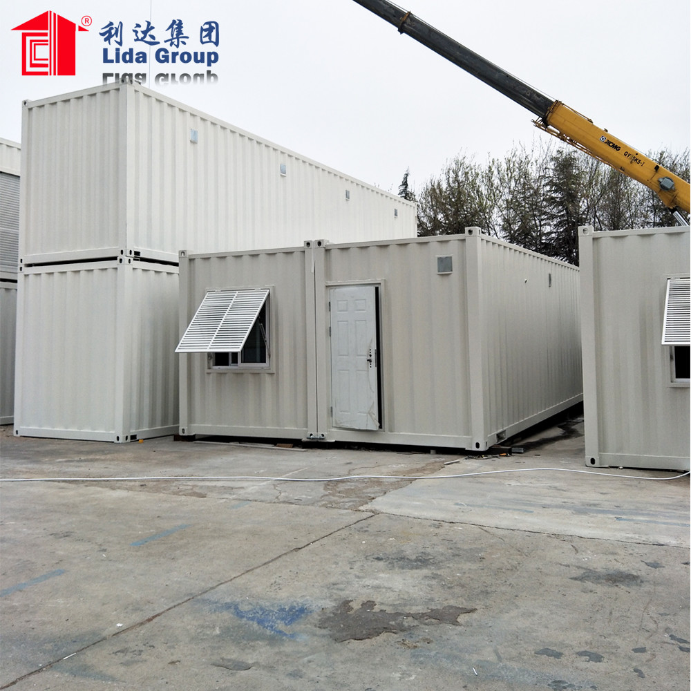 China luxury 40 feet shipping container homes for sale