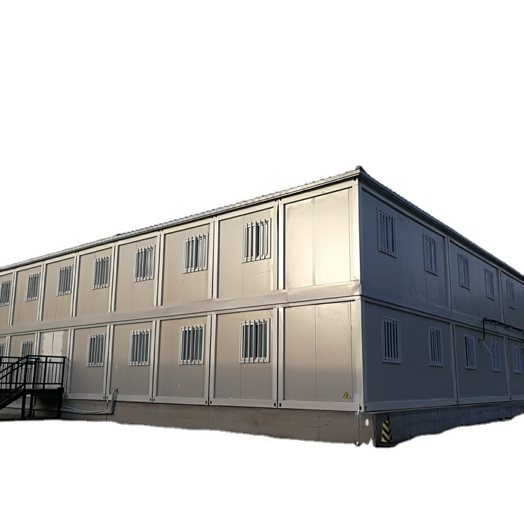 New Design Prefabricated 20ft Flat Pack Modular Container House Camp
