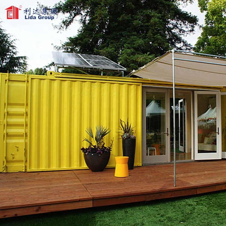 Steel house of container living