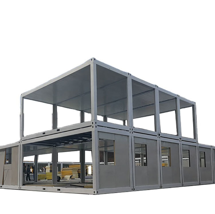 CE Certificate 20ft Prefabricated Flat Pack Container House