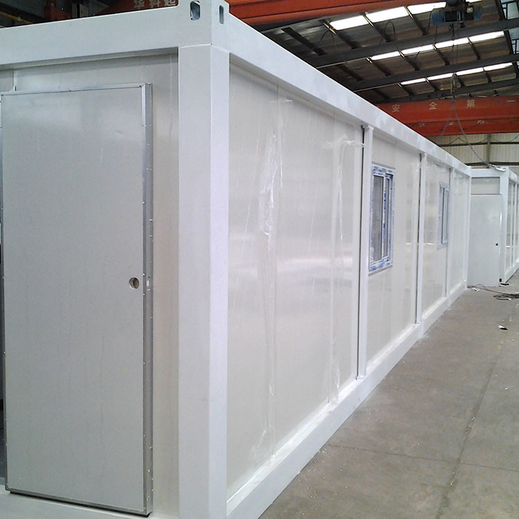 40ft expandable cheap portable low cost prefab container house