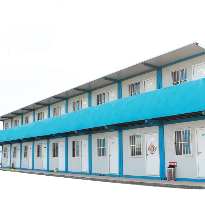 integrated remote site service camp building
