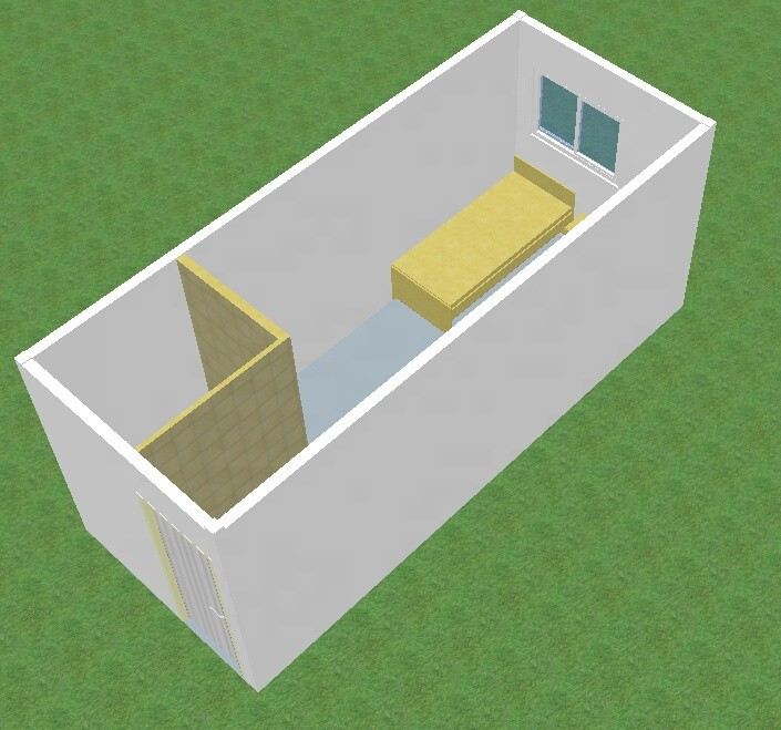 1 bedroom low cost container house