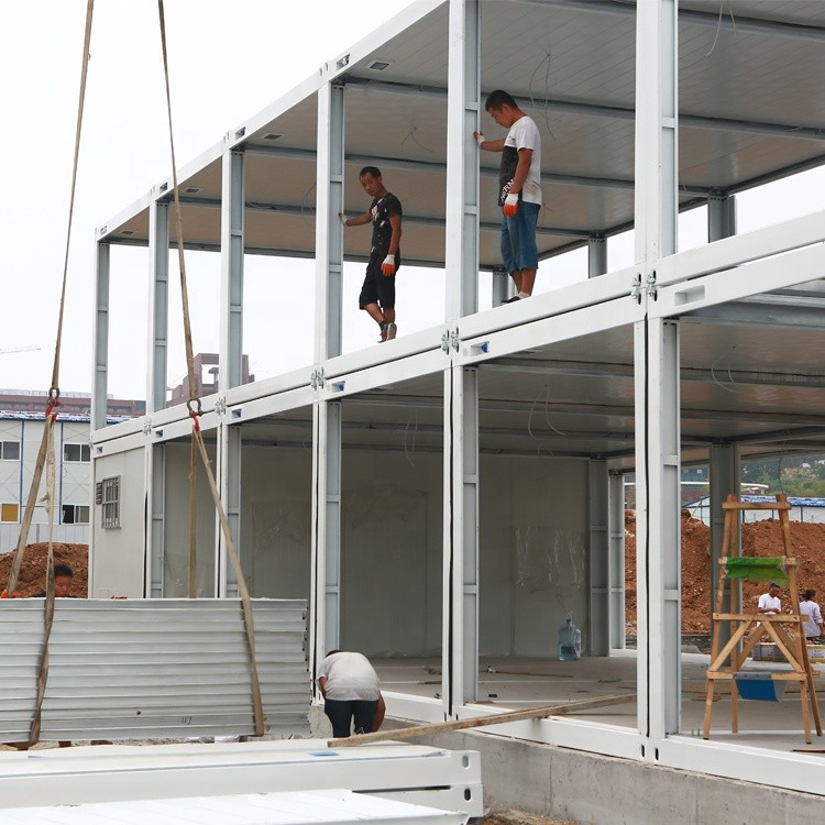 prefab housefolding pop up container house for sale