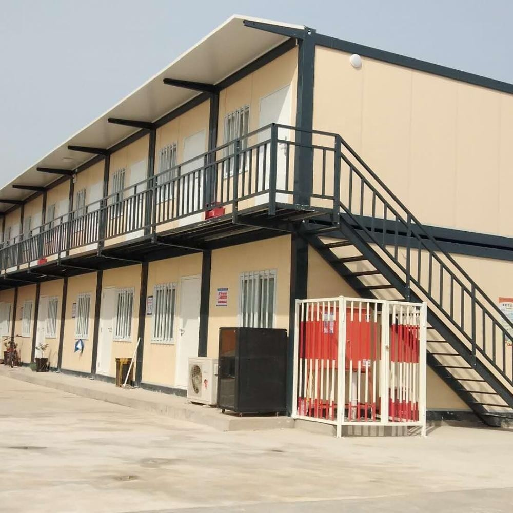 Fast assembly detachable 20ft40ft modular container house as worker camp