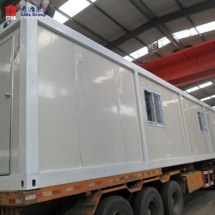 Flat pack camper trailer