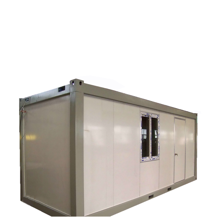 High Quality Flat pack container house prefabricated as site prefab house and container office accommodation for sale