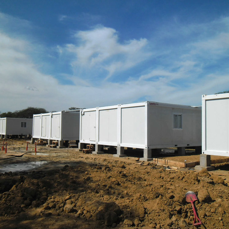 20ft and 40ft Flat pack container house accmmodation camp