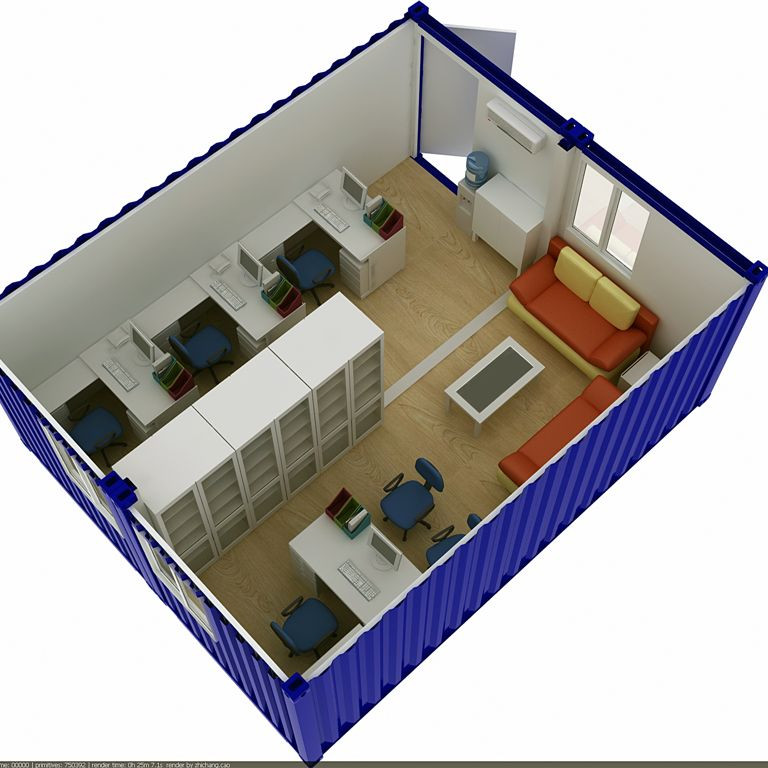 Modern Prefabricated Flat Pack Kit Homes And Containers