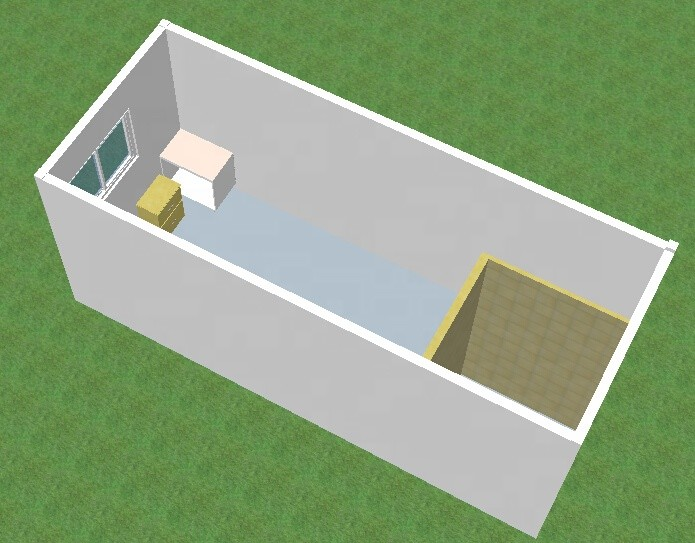 Australian Standard Modular Home Container House Kits