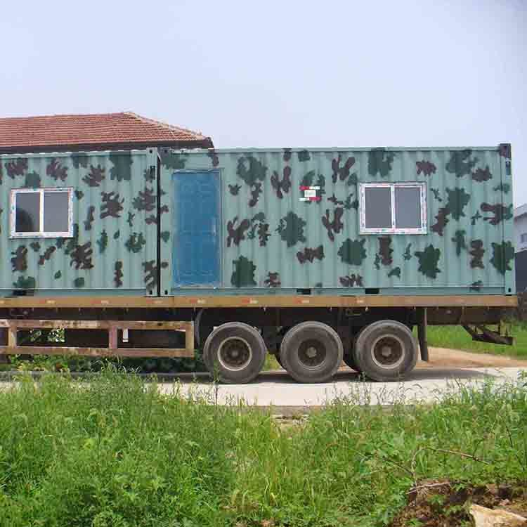 New zealand small steel frame flat pack container house prefabricated