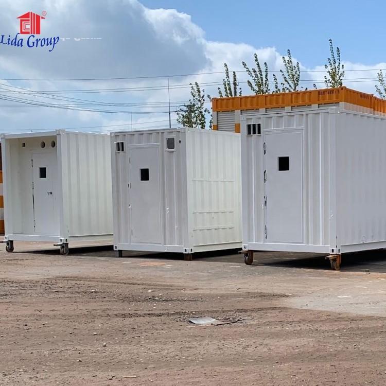 Mauritius containergarage house 2 floor
