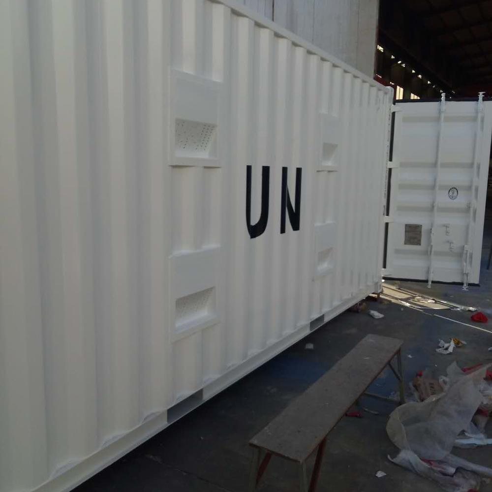 flat-packed container house