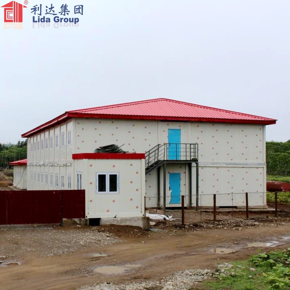 20ft prefabricated expandable shipping container house luxurious in camp