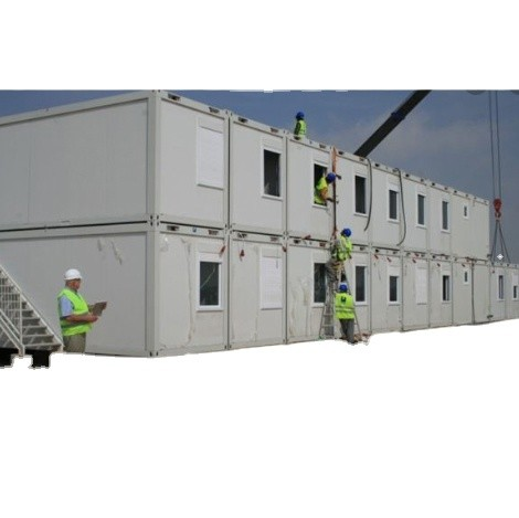 Prefab Flat Pack Container Portacabin Container Camp House