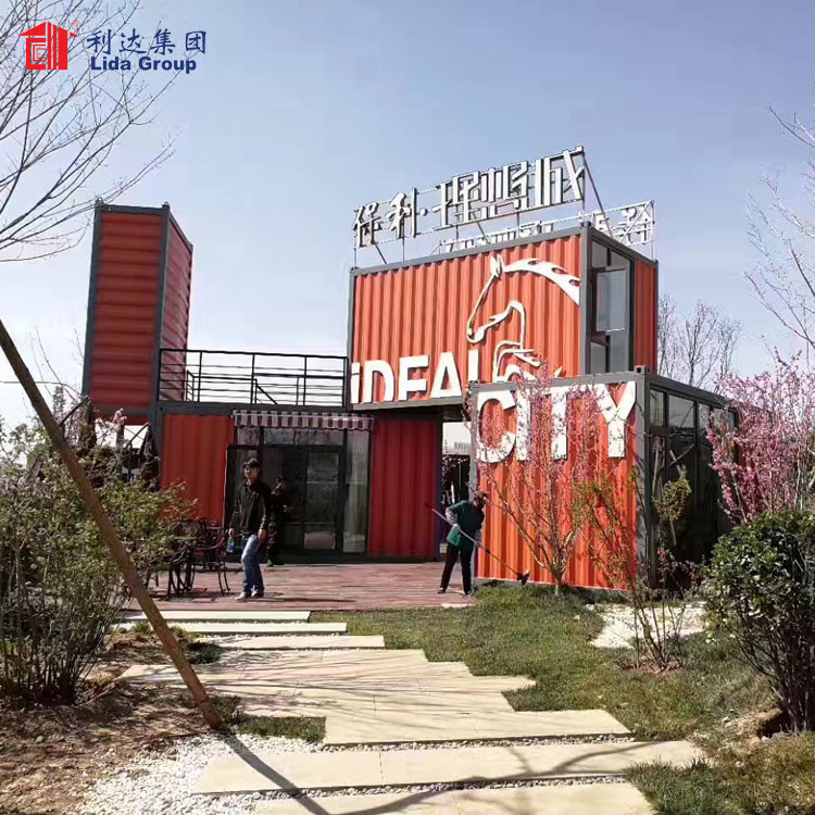 Container house luxury prefabricated, luxury container house