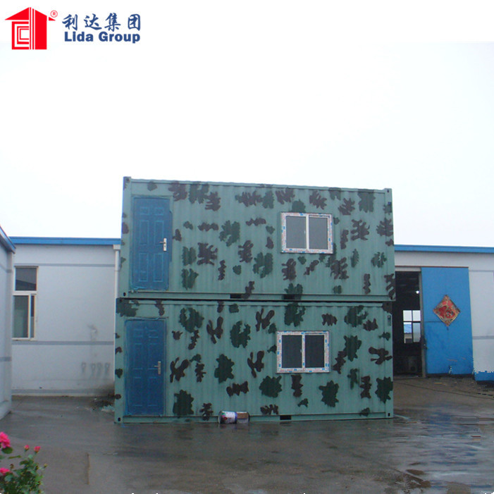 Chinese Supplier Army Camps Emergency Military Container Housing Shelters