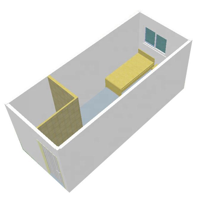 yemen prefabricated container van house for sale in cebu