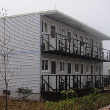 Prefabricated office porta cabins