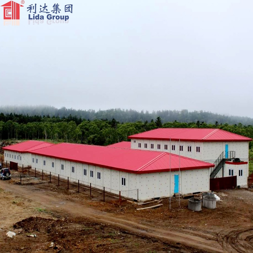 Prefabricated Foldable Flat Pack China Hotel Container Room