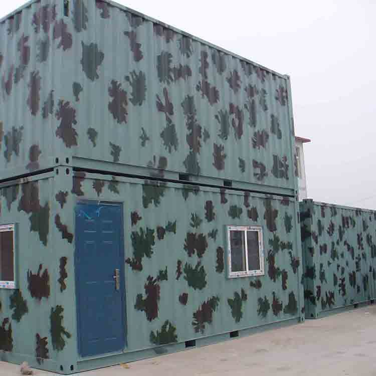 Factory production prefabricated container hotel room for commercial architecture