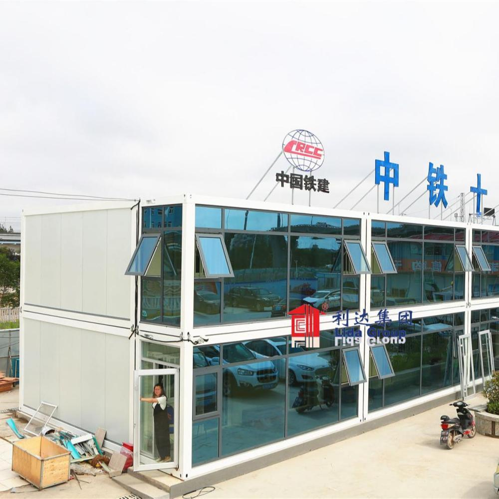 China Design 20ft Flat Pack Container House