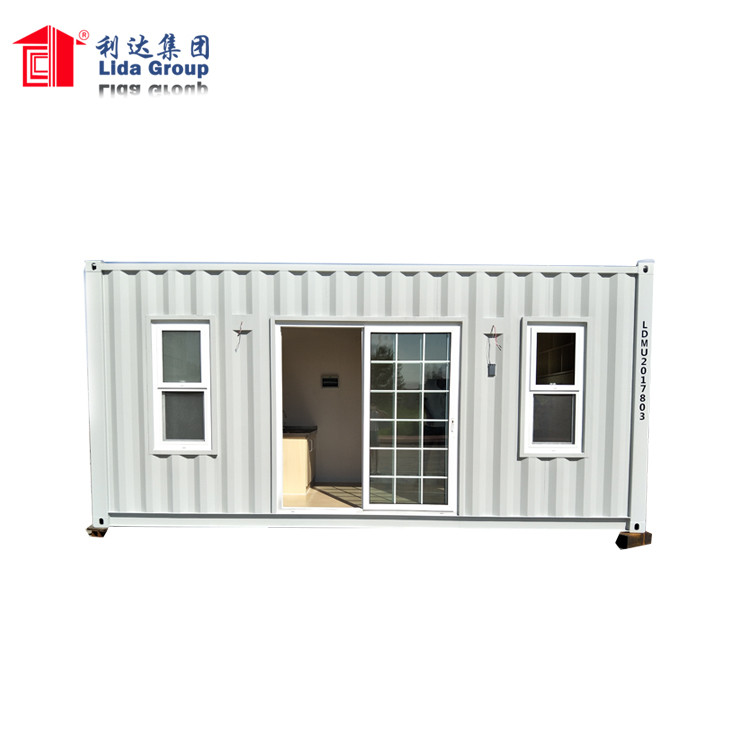China 20 Foot 3D Model Design Shipping Container House
