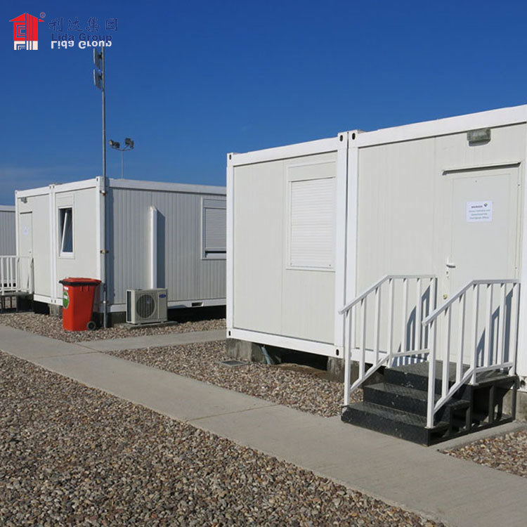 Low cost Chinese manufacture 2 storys prefab shipping container homes for sale