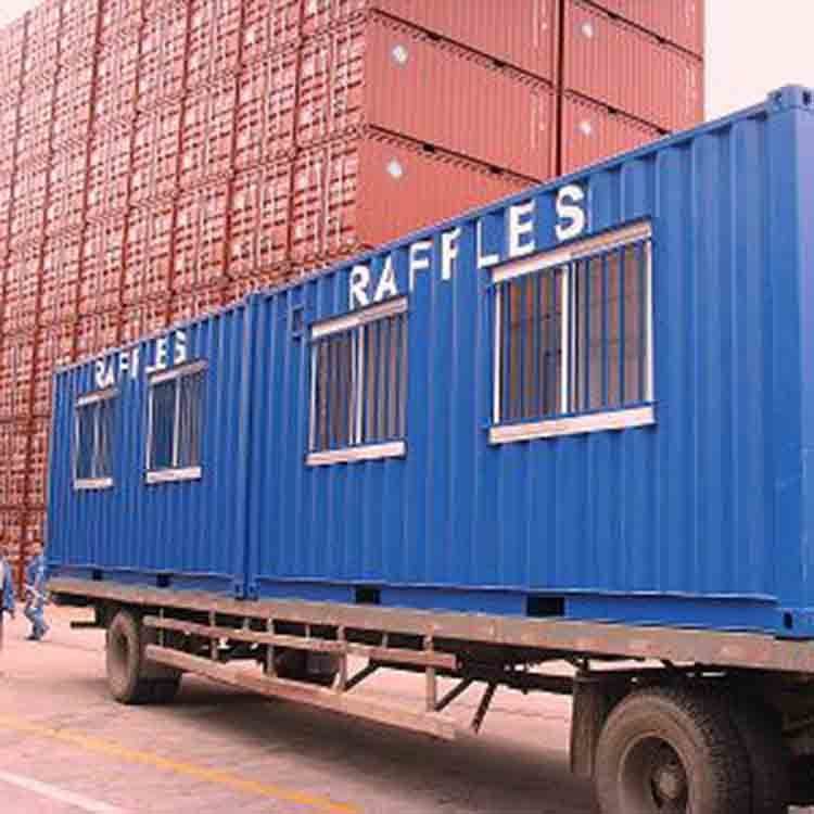 Low price folding house prefabricated container shop
