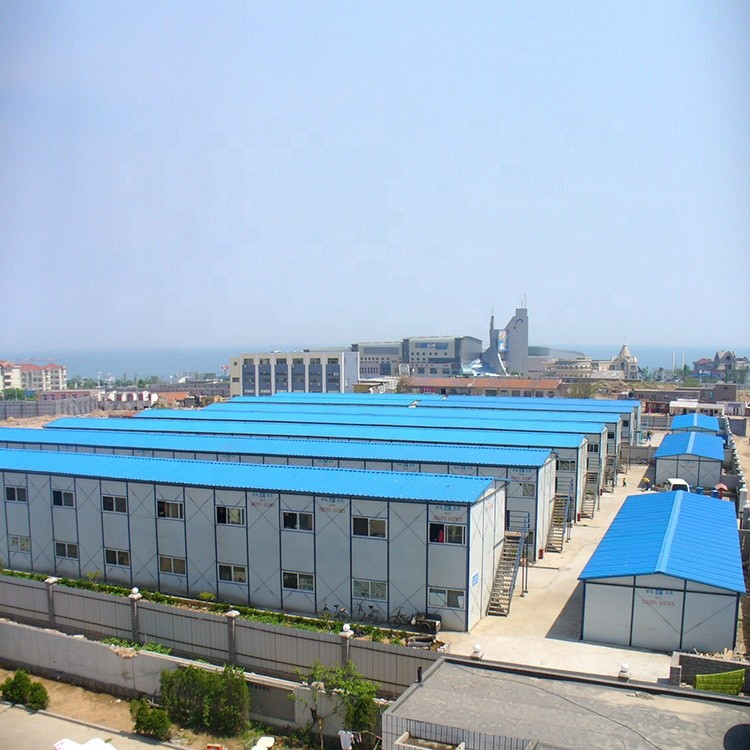 4000 people prefabricated labour camp Oil camp for workers dormitory and engineers office with free design