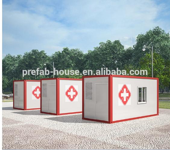 Mobile Modular Medical Emergency Isolation Field Hospital